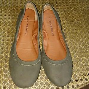 Lucky Brand Emmie Ballet Flat Unworn Size 6M/36